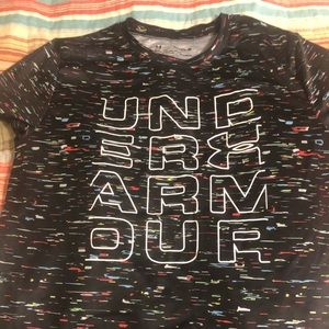 Boys Under Armour Heat Gear T-shirt